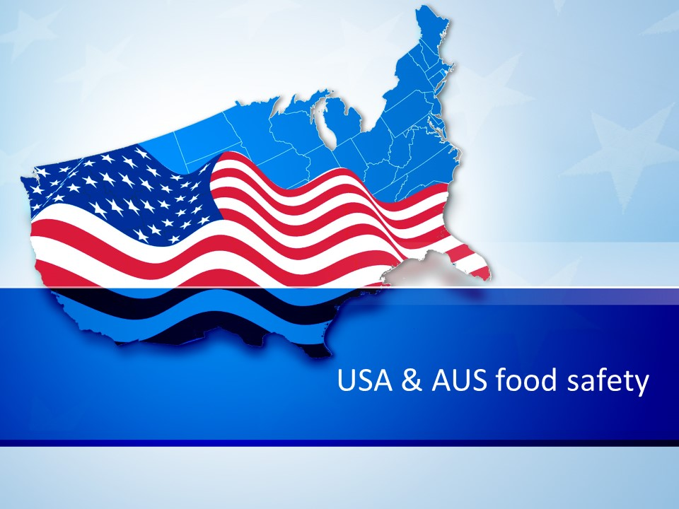 reciprocal recognition of food safety with usa of mutual benefit